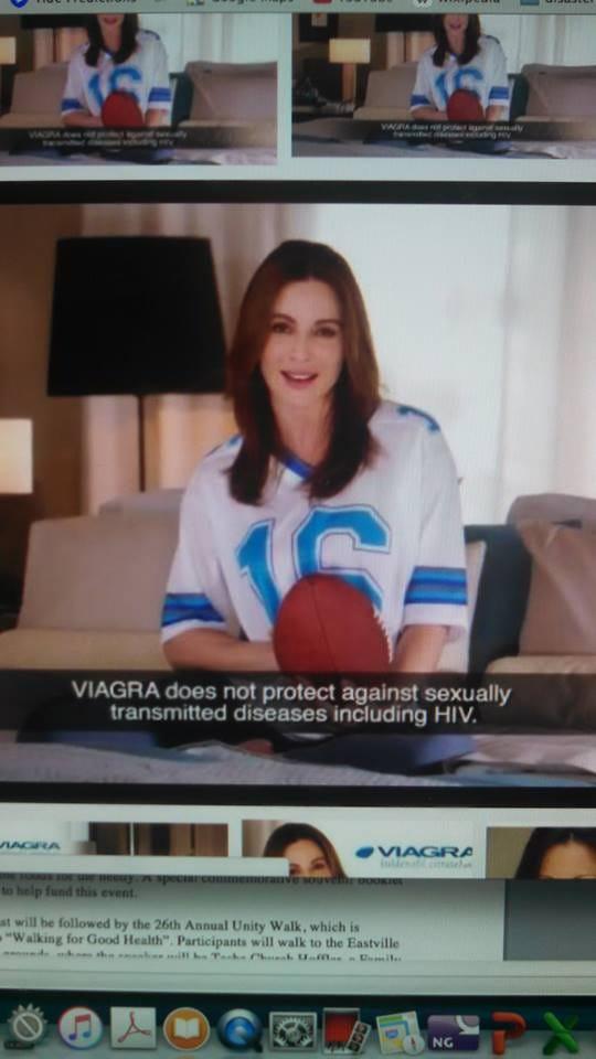 Viagra commercial disclaimer blaue tabletten viagra