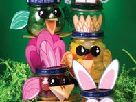 DIY: Repurpose Small Jars For Easter Treats