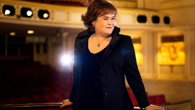 """Susan Boyle's first American tour comes to Whitney Hall Friday night as she releases a new album, """"Hope."""""""