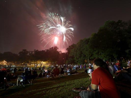 Tom Brown Park fireworks