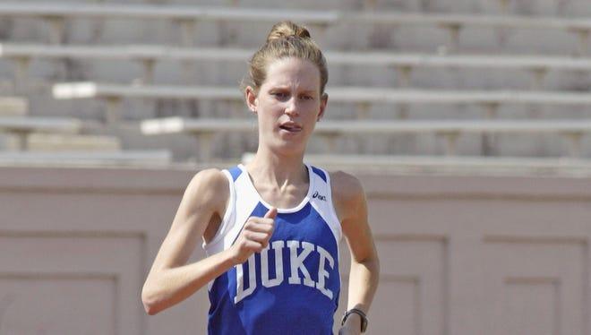 Carolina Day alum Laura Stanley ran in college for Duke.