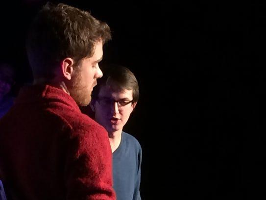 Aaron Paulsen (left) and Tim Bridge of The Unmentionables