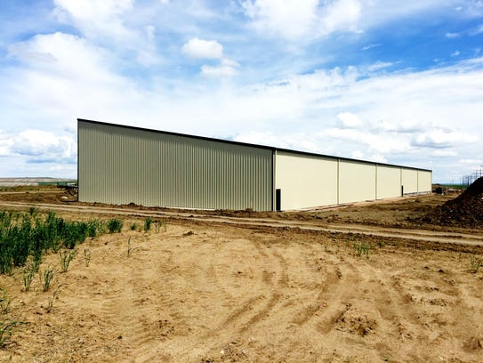One of two storage facilities being built for Helena