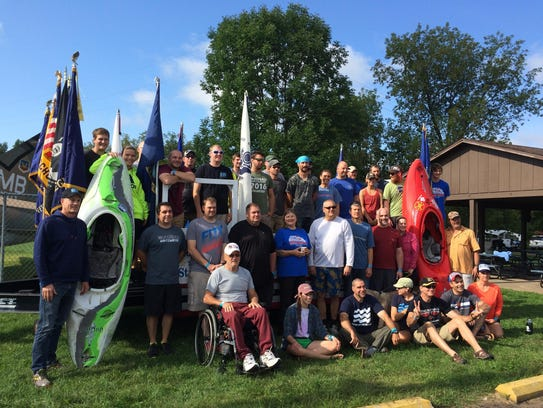 Wausau Whitewater sponsored a weekend of paddling for