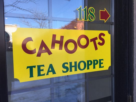 In Cahoots Tea Shoppe is located on Central Avenue