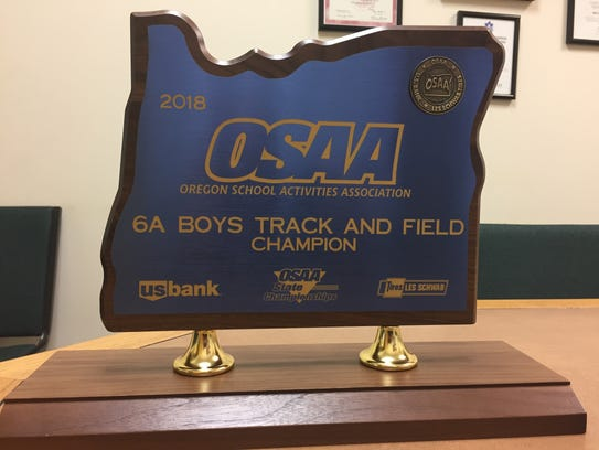 The 2018 OSAA 6A boys track and field championship