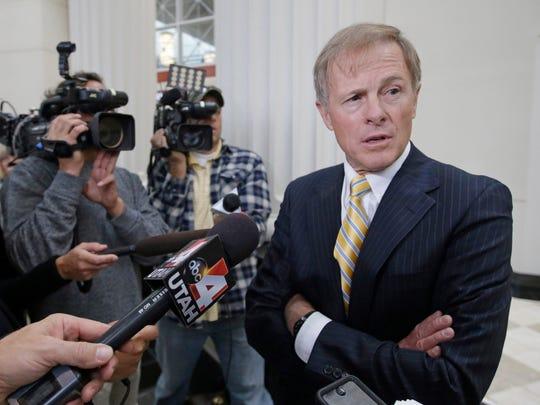 United Effort Plan Trust lawyer Jeffery Shields speaks