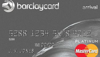 Barclaycard reward card.