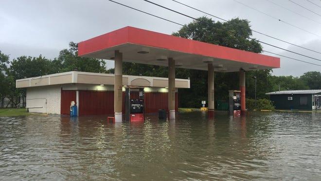 Port Arthur has had dramatic flooding following Hurricane Harvey