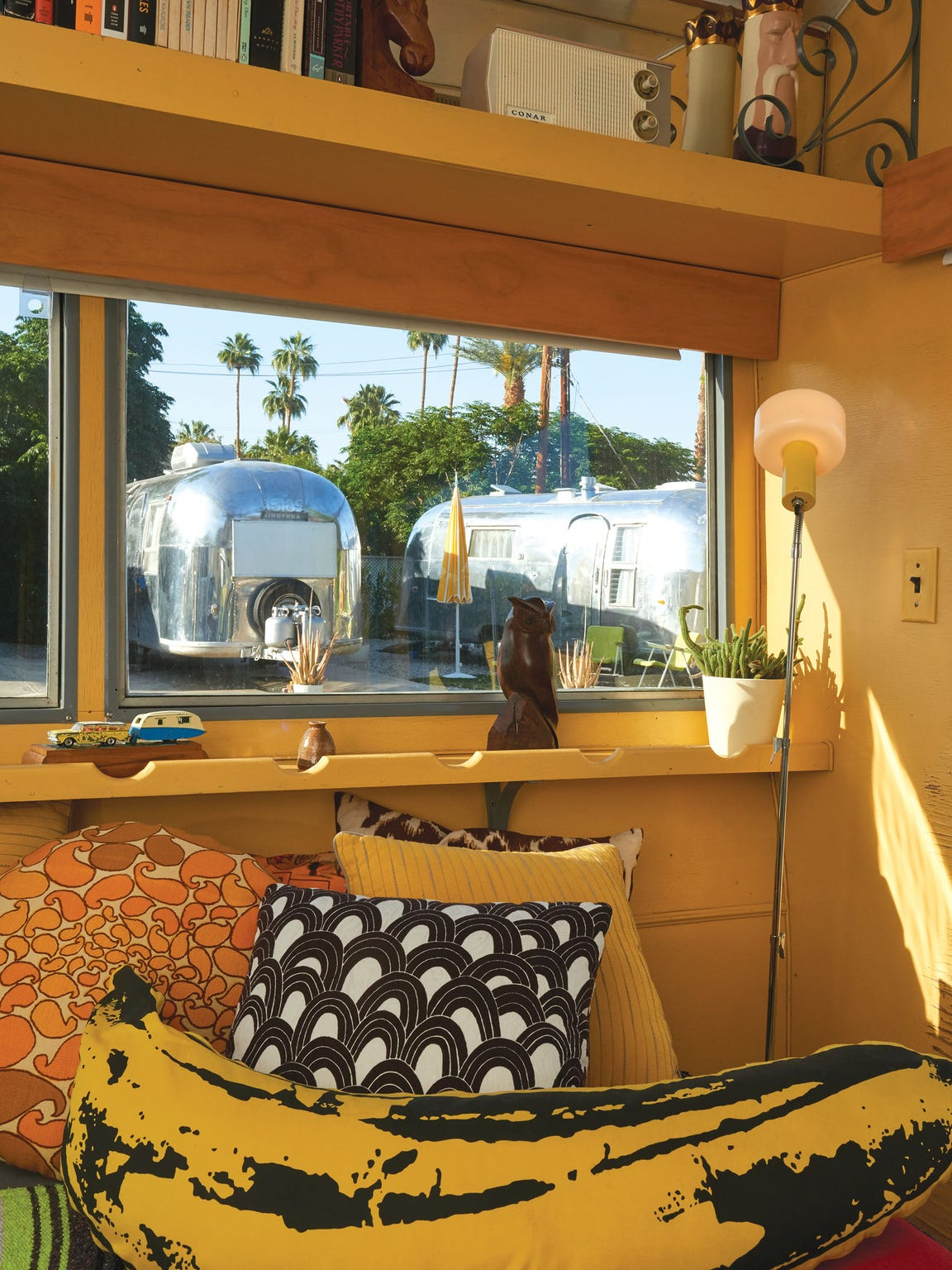 Palm Springs' Matthew Reader's love for trailers translates to beautifully transformed mobile homes.