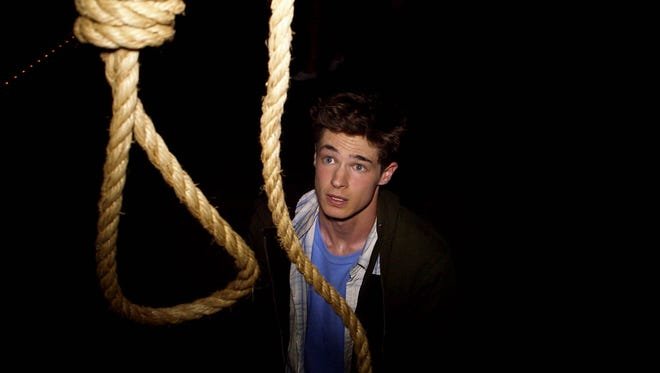 Reese Mishler stars in the horror film 'The Gallows.'
