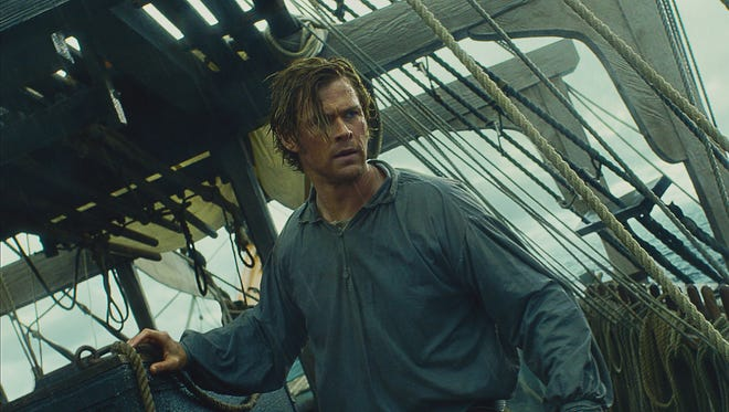 Chris Hemsworth stars as first mate Owen Chase in 'In the Heart of the Sea.'
