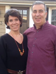 Gene Melleno and his wife, Robin.