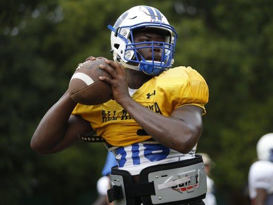 Godby senior quarterback Darius Bradwell, a Kent State