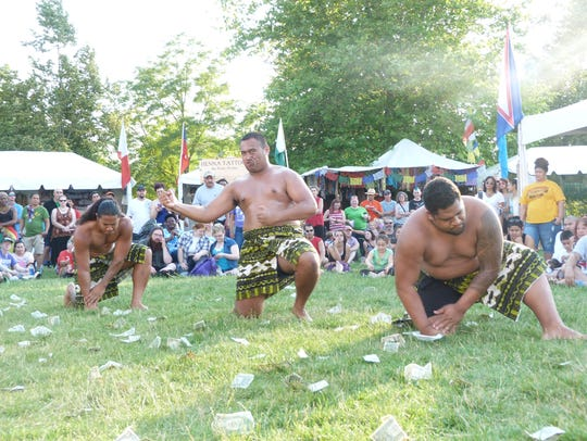 The Paradise of Samoa Luau features music, dancing, food and a fire show.