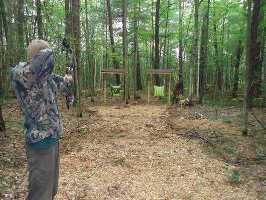 Portage County Parks archery range