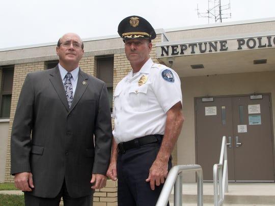Police Director Michael Bascom, Chief James Hunt Jr.