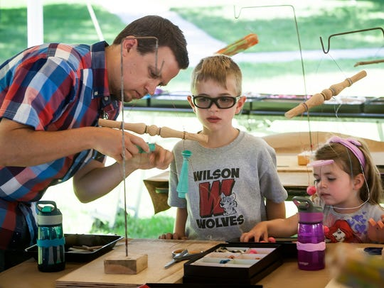 Hands-on, art workshops offer creative fun for all