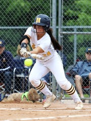 Bri Robeson had lead-off singles in the sixth and eighth