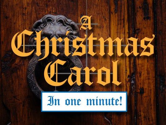 Christmas Carol 1-minute