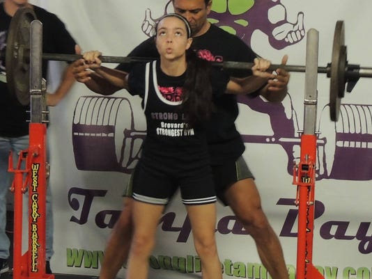 Brevard female weightlifters take first at state competition