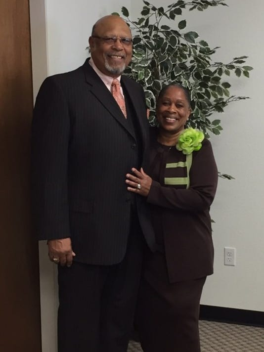 Pastor Forney and wife Neva Forney.
