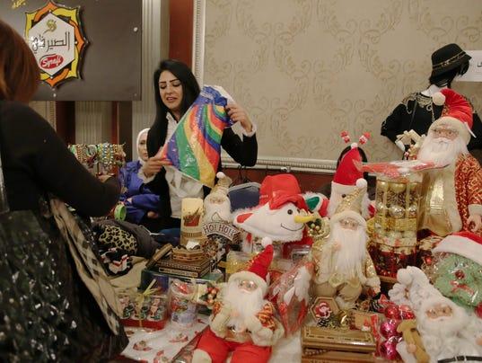 EPA SYRIA CHRISTMAS REL PEOPLE BELIEF (FAITH) SYR
