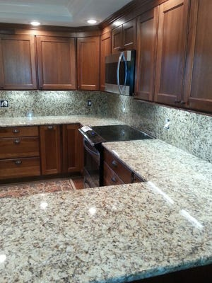 Reports have linked some types of granite counter tops to radon gas. Mitch Kuffa says don't panic. There is a lot of conversation, but very little serious research on this topic.