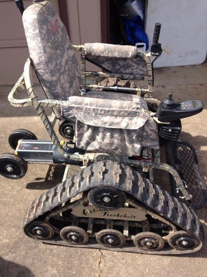 Deputies are asking the public's help in locating a stolen electric wheelchair.