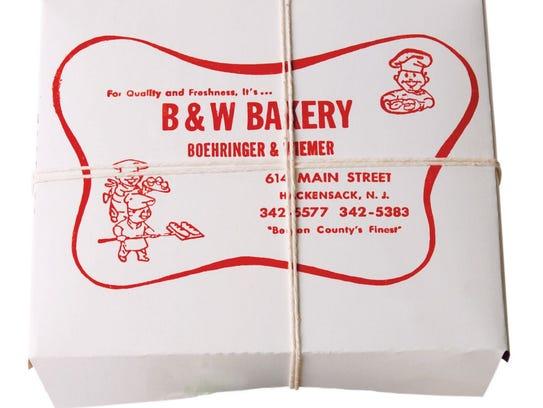 B&W Bakery, Hackensack.