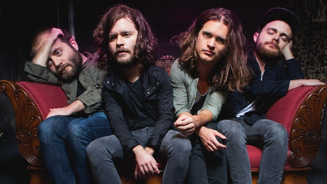 """Kongos as seen in the video for """"Take it From Me."""""""