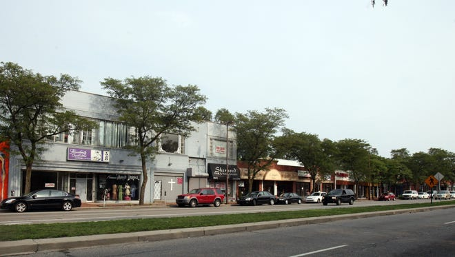 What was once called Avenue of Fashion along Livernois in Detroit is trying to make a comeback these days. This is a wide shot of the street that has stores between 7 Mile and 8 Mile.Photographed  Thursday, August 17, 2012.REGINA H. BOONE/Detroit Free Press