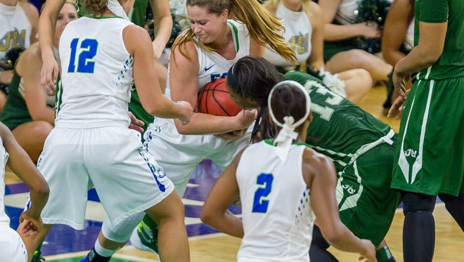 FGCU (16-6, 5-0) vs. JU (16-4, 5-0) should be another dramatic tussle when the teams meet in Alico Arena on Saturday. On March 13, JU stunned FGCU in the ASUN tournament final by two points.