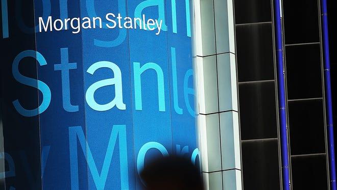 Morgan Stanley's headquarters in New York City.