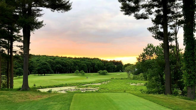 Whitinsville Golf Club's challenging par-4 ninth has long been recognized as one of the 100 best holes in the country by Golf Magazine.
