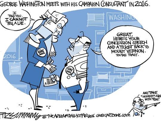 Vote George Washington 2016.
