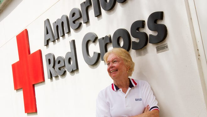 Bonita Springs resident Jan George won the American Red Cross' Governor's Hurricane Conference award for her volunteer work during disasters. She's been a Red Cross volunteer for 57 years, more than 20 of those years in Lee County.