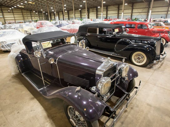 A 1929 Stutz Blackhawk  Thursday June 22, 2017 in the