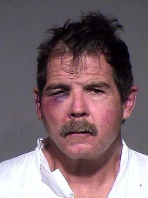 Scottsdale police arrested Bryon Ysasi after a woman reported that he beat her at a hotel in Dec. 2014.