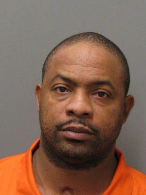Donald Caldwell is charged with two counts domestic violence reckless endangerment and interference with custody.