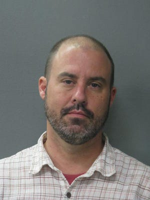David Michael Bruce of Lafayette was charged with simple arson.