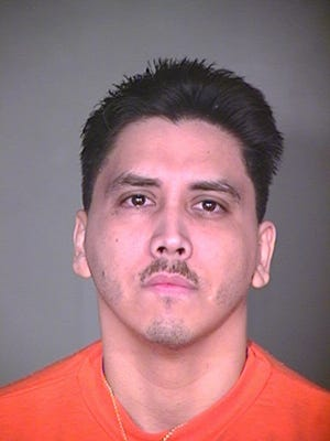 This Arizona mugshot is the latest available photograph of Ernesto Salgado Martinez. The Desert Sun was not permitted to take pictures of Martinez during his latest court hearing.