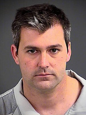 Michael Thomas Slager, a former North Charleston, S.C., police officer was indicted Monday, June 8, 2015, in the shooting death of an unarmed man.  Video showed the final seconds of Slager's confrontation with Walter Scott on April 11, 2015.