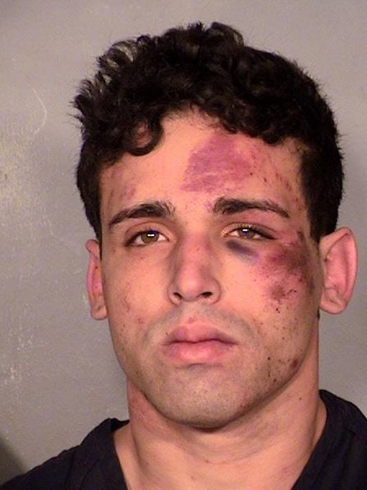Las Vegas 'Thunder From Down Under' Shooting Case Booking Photo