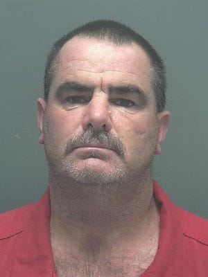 A mugshot of Timothy Wayne Turner, driver arrested in fatal hit and run.