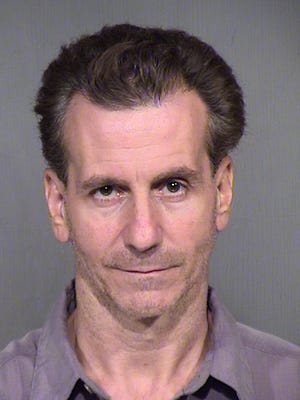 DPS troopers arrested David Falco for killing a motorcyclist on Loop 303 Tuesday night.