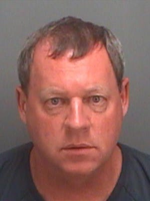 Father Stephen Pohl was arrested by the Pinellas County (Fla.) Sheriff's Department.