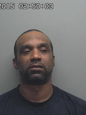 Antoine Leverett, 47, was charged with 14 misdemeanors for evading police and disorderly conduct
