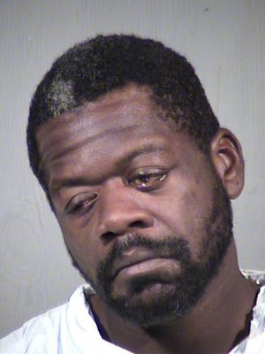 Mugshot of Jeffrey Kirby, the man held responsible for the murder of Miguel Adame in Glendale, AZ.