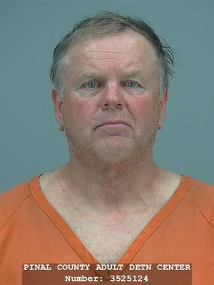 PCSO deputies arrested Joseph Larned, 63, for operating his plumbing business without a license.